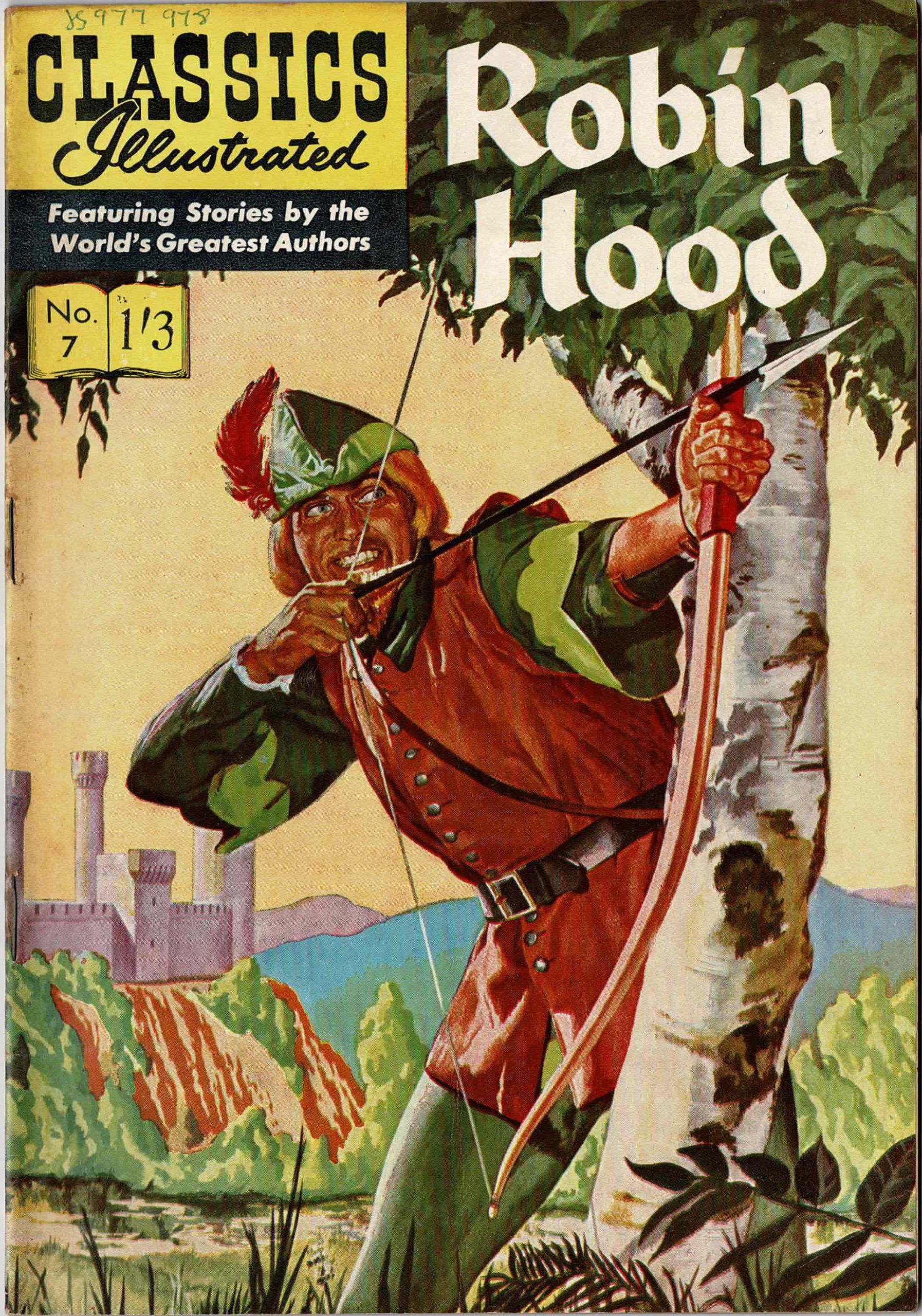 robin hood  ccs books
